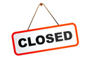 Closed on Whit Monday, May 16